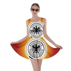 Deutschland Logos Football Not Soccer Germany National Team Nationalmannschaft Skater Dress