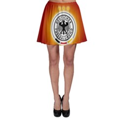 Deutschland Logos Football Not Soccer Germany National Team Nationalmannschaft Skater Skirt