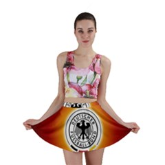Deutschland Logos Football Not Soccer Germany National Team Nationalmannschaft Mini Skirt