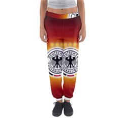 Deutschland Logos Football Not Soccer Germany National Team Nationalmannschaft Women s Jogger Sweatpants