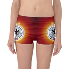 Deutschland Logos Football Not Soccer Germany National Team Nationalmannschaft Boyleg Bikini Bottoms