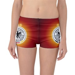 Deutschland Logos Football Not Soccer Germany National Team Nationalmannschaft Reversible Boyleg Bikini Bottoms
