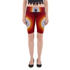 Deutschland Logos Football Not Soccer Germany National Team Nationalmannschaft Yoga Cropped Leggings
