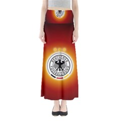 Deutschland Logos Football Not Soccer Germany National Team Nationalmannschaft Maxi Skirts