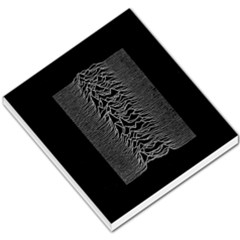 Grayscale Joy Division Graph Unknown Pleasures Small Memo Pads