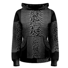 Grayscale Joy Division Graph Unknown Pleasures Women s Pullover Hoodie