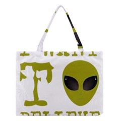 I Want To Believe Medium Tote Bag