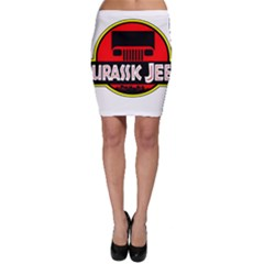 Jurassic Jeep Park Bodycon Skirt