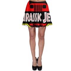 Jurassic Jeep Park Skater Skirt