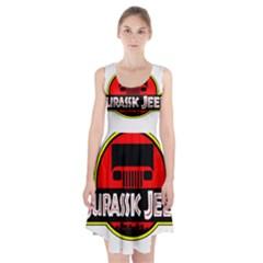 Jurassic Jeep Park Racerback Midi Dress