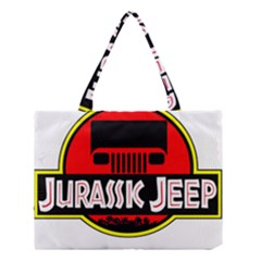 Jurassic Jeep Park Medium Tote Bag