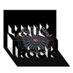 Twenty One Pilots Power To The Local Dreamder You Rock 3D Greeting Card (7x5)