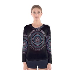 Twenty One Pilots Power To The Local Dreamder Women s Long Sleeve Tee