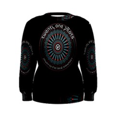 Twenty One Pilots Power To The Local Dreamder Women s Sweatshirt