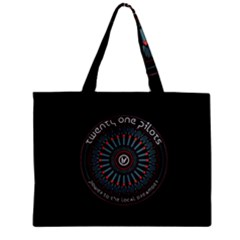 Twenty One Pilots Power To The Local Dreamder Zipper Mini Tote Bag