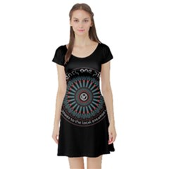 Twenty One Pilots Power To The Local Dreamder Short Sleeve Skater Dress