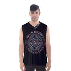 Twenty One Pilots Power To The Local Dreamder Men s Basketball Tank Top