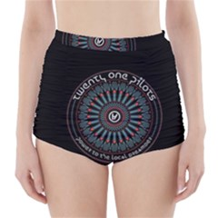Twenty One Pilots Power To The Local Dreamder High Waisted Bikini Bottoms
