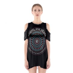 Twenty One Pilots Power To The Local Dreamder Cutout Shoulder Dress