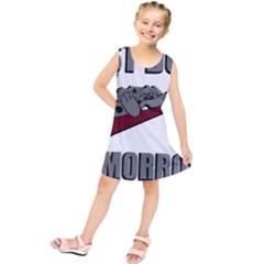 Just Do It Tomorrow Kids  Tunic Dress