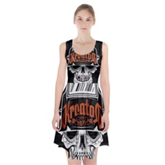 Kreator Thrash Metal Heavy Hard Rock Skull Skulls Racerback Midi Dress