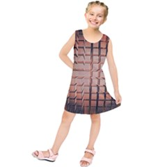 Abstract Texture Background Pattern Kids  Tunic Dress