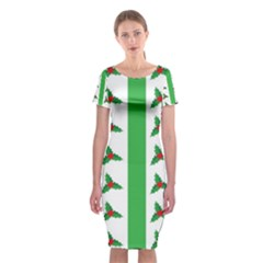 Holly  Classic Short Sleeve Midi Dress