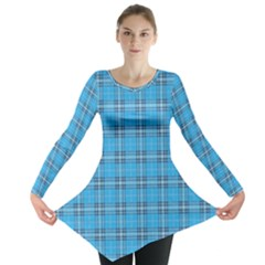 The Checkered Tablecloth Long Sleeve Tunic