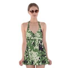 Flectar Halter Swimsuit Dress