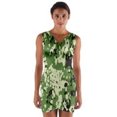 Flectar Wrap Front Bodycon Dress