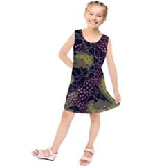 Abstract Garden Kids  Tunic Dress