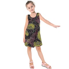 Abstract Garden Kids  Sleeveless Dress
