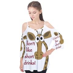 Giraffe Joke Flutter Tees