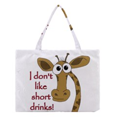 Giraffe Joke Medium Tote Bag