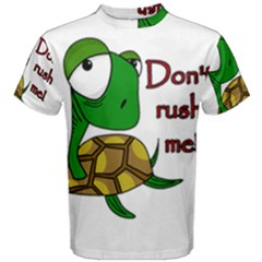 Turtle Joke Men s Cotton Tee