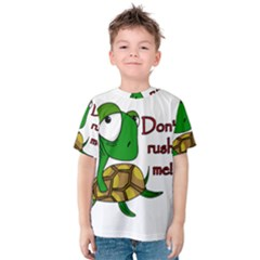 Turtle Joke Kids  Cotton Tee