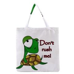 Turtle Joke Grocery Tote Bag
