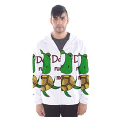 Turtle Joke Hooded Wind Breaker (men)