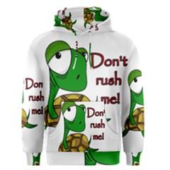 Turtle Joke Men s Pullover Hoodie