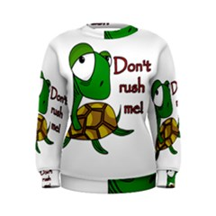 Turtle Joke Women s Sweatshirt
