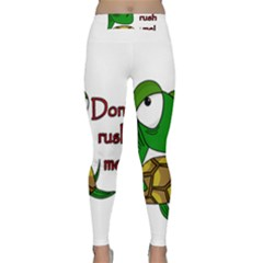 Turtle Joke Classic Yoga Leggings