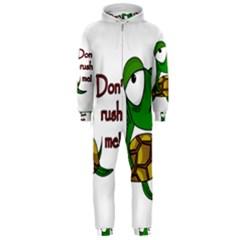 Turtle Joke Hooded Jumpsuit (men)