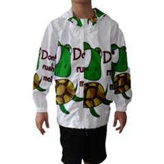 Turtle Joke Hooded Wind Breaker (kids)