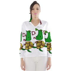Turtle Joke Wind Breaker (women)