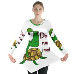 Turtle Joke Long Sleeve Tunic