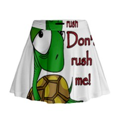 Turtle Joke Mini Flare Skirt