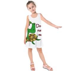 Turtle Joke Kids  Sleeveless Dress