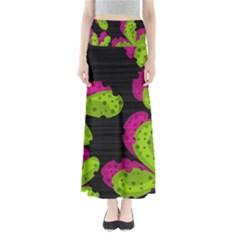 Decorative leafs  Maxi Skirts