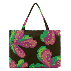 Colorful leafs Medium Tote Bag