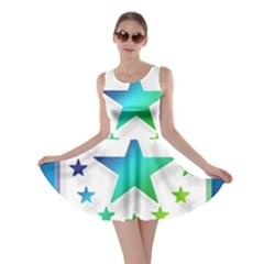 Icon Star Europe Symbols Online Skater Dress